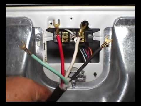 4 prongs power cord installing Whirlpool 29 inch electric ...