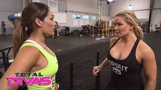 Natalya holds back when training with Nikki Bella: Total Divas, April 5, 2017