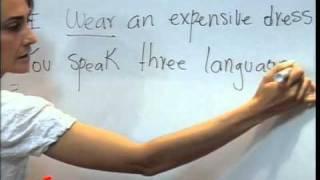 Inglés unidad III -- Present simple