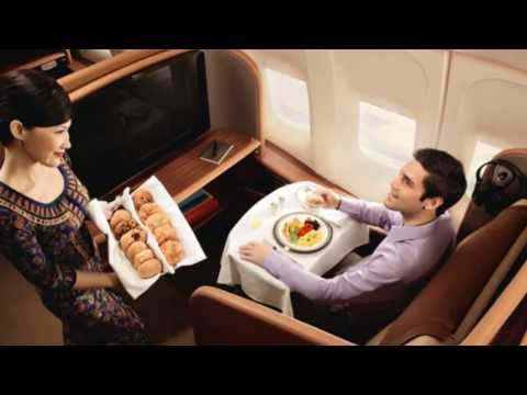 Travel FIRST CLASS on Thai Airways service with Luxury hotels & Luxury resorts