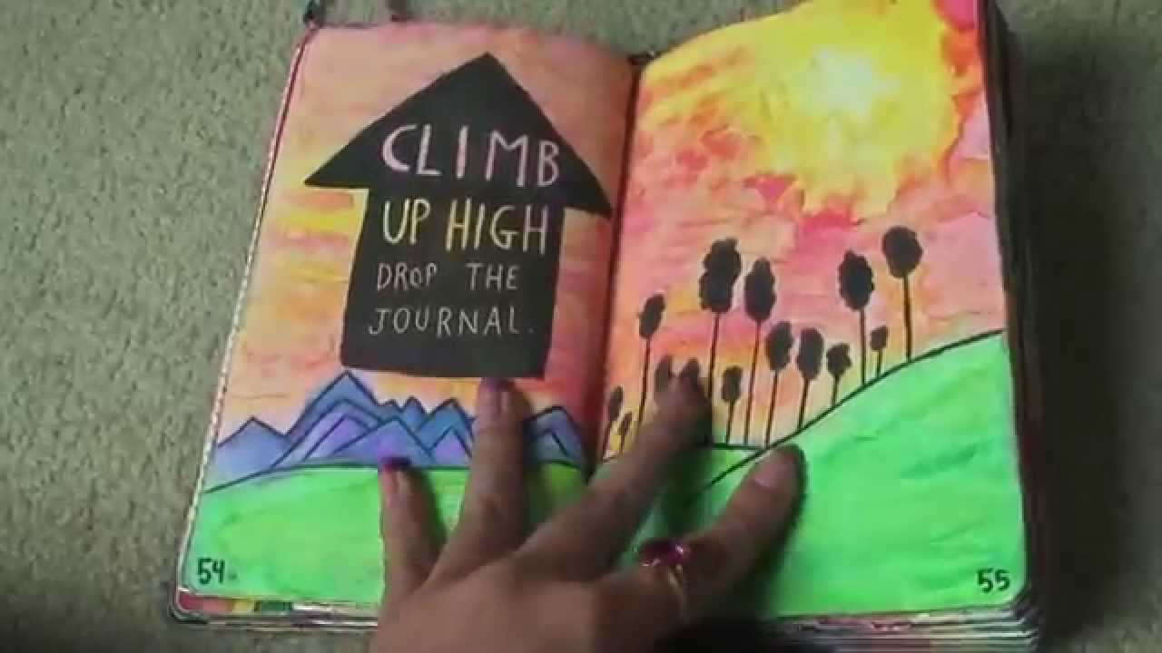 Completed Wreck This Journal Youtube