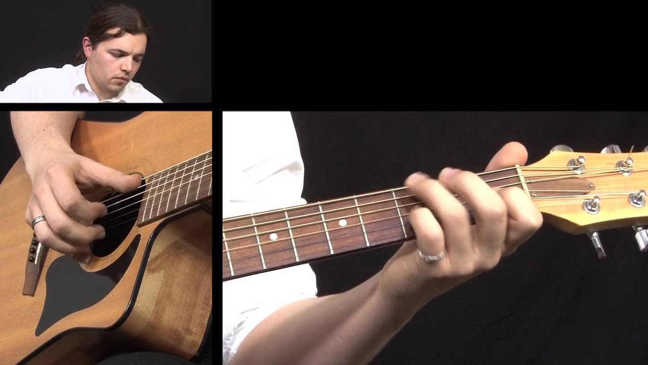 how to play caledonia on guitar