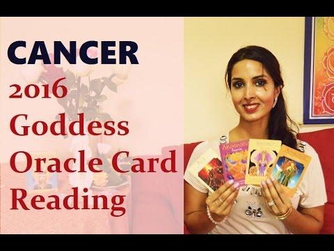 Cancer 2016 Goddess Oracle Card Reading
