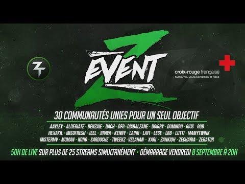 Z Event, l'annonce. 50h avec 25 streams.