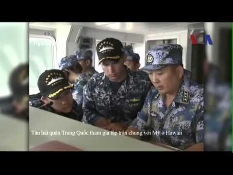 TQ gửi tàu do thám đến gần cuộc tập trận hải quân với Mỹ