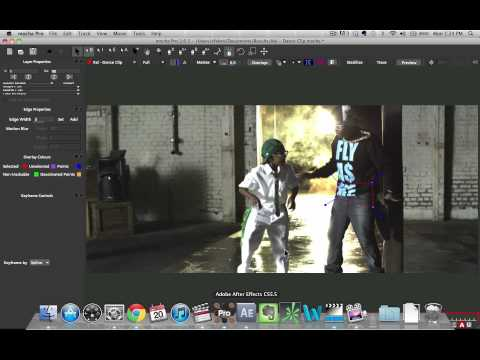 tutorial: Rotoscoping Tutorial in After Effects and Mocha Part 1