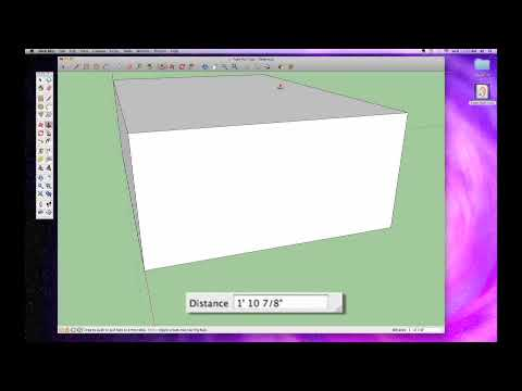 Sketchup #6: The Push Pull Tool