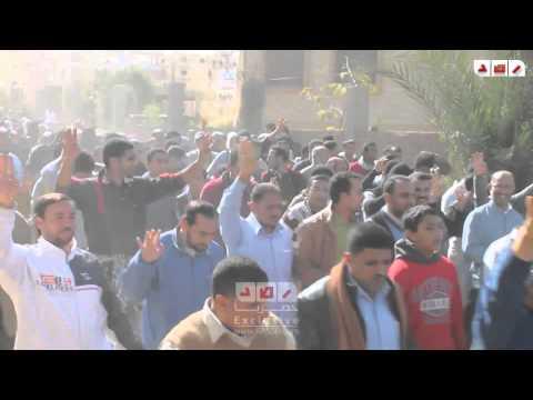 مسيرة 25 يناير بمدينة 6 اكتوبر ضد الانقلاب العسكرى
