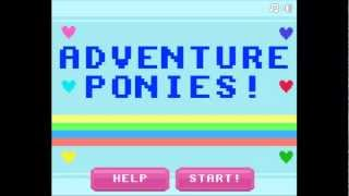 Let's Play Flash Games: Adventure Ponies Part 1 Twilight