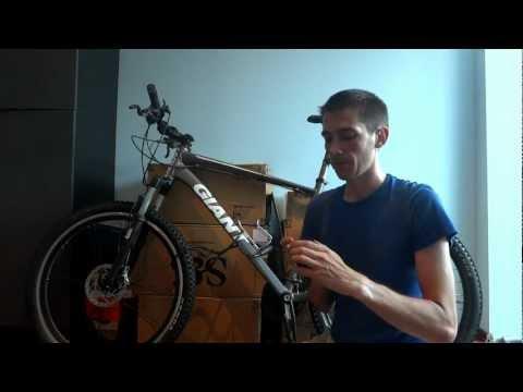 Test antifurt bicicleta Abus Citadel de la Lacat.ro - taiere cu cleste fier beton