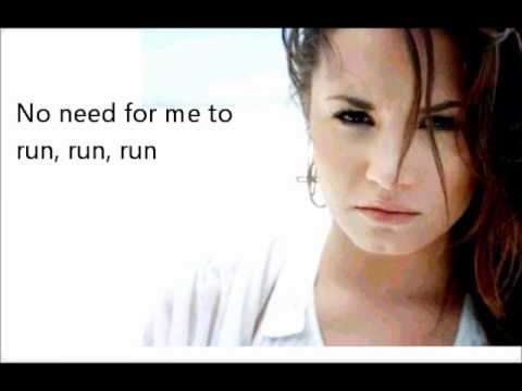 06. Unbroken - Demi Lovato - Unbroken - LYRICS ON SCREEN