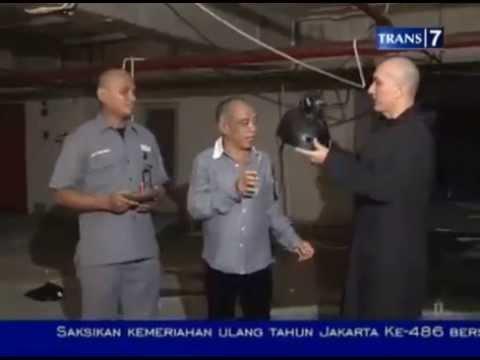 KOCAK!! Pak Tarno (Pesulap) peserta uji nyali (part 1) - Masih Dunia Lain
