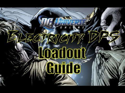 dcuo electricity dps loadout updated youtube