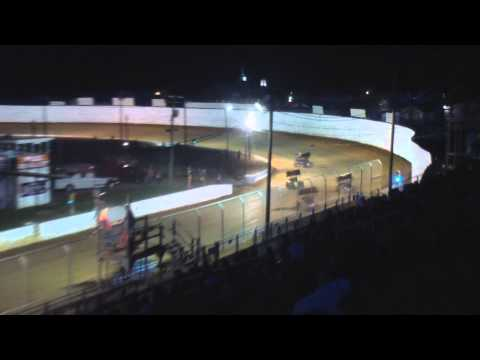 Port Royal Speedway 410 Sprint Car Highlights 4-12-14