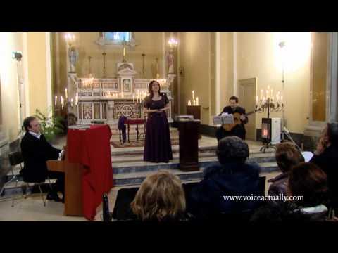 Carla Regina Voice Actually : Intorno all`idol mio -A. Cesti