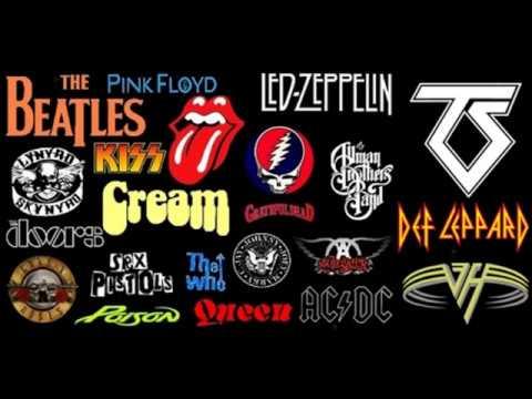 60's - 70's Rock mix Vol 1. HQ audio.
