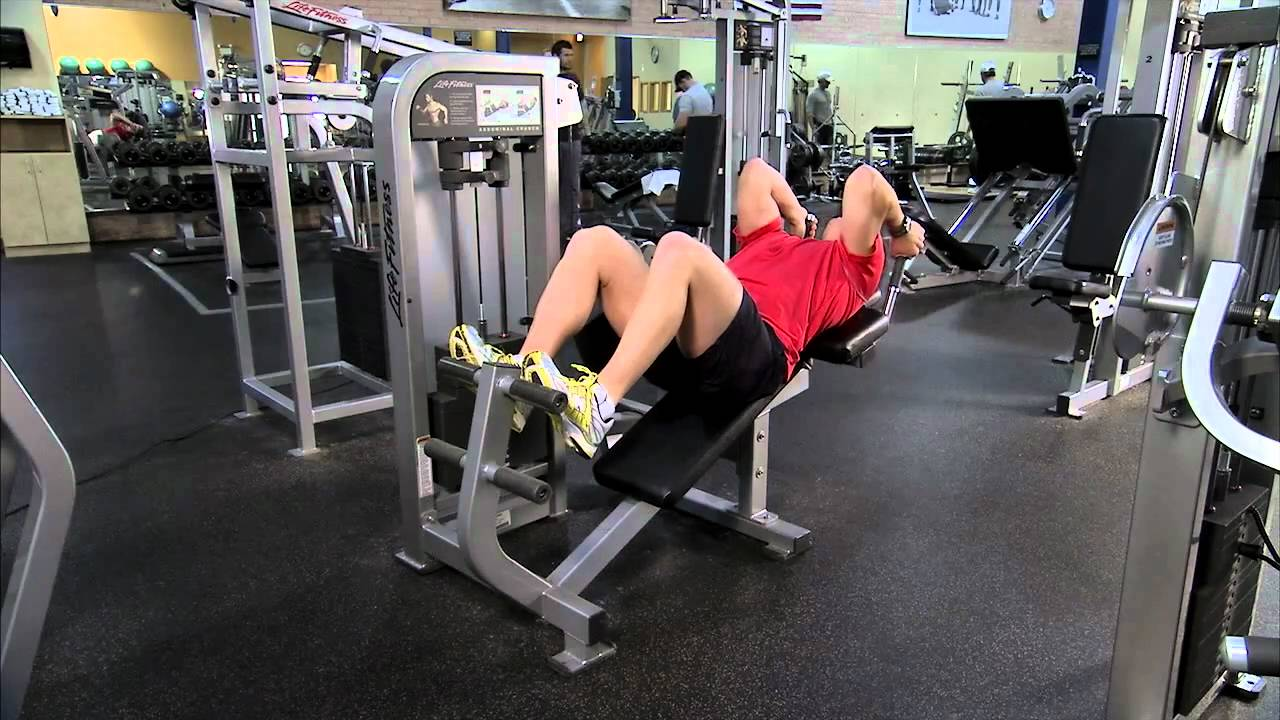 Life Fitness Pro2 Ab Crunch Instructions Youtube