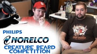 """Creature Beard Competition Video #4 """"Reading Comments"""" (Philips Norelco)"""