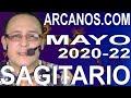 Video Horóscopo Semanal SAGITARIO  del 24 al 30 Mayo 2020 (Semana 2020-22) (Lectura del Tarot)