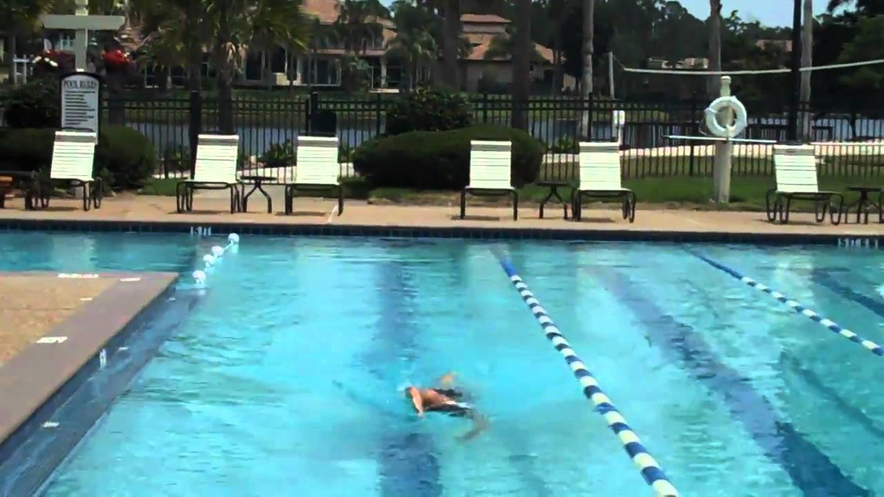 Coach Robb Swimming Pool Drill To Improve Swimming Straight In Open Water Youtube