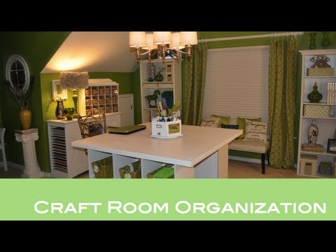 craft room organization youtube