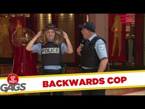 Backwards Cop