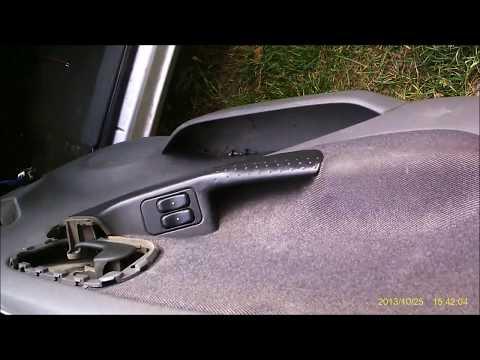 Opel Corsa C wymiana głośników w drzwiach.