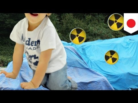 Fukushima radioactive waste stored in children's playgrounds by local government