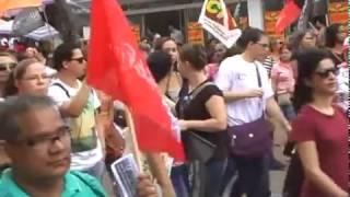 MANIFESTAÇÃO GREVE GERAL 28 DE ABRIL -