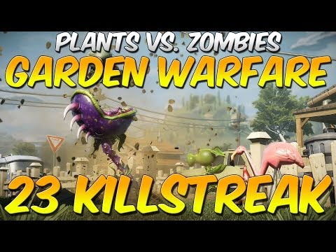 Plants vs Zombies Garden Warfare - Gardens and Graveyards + 23 Kill Streak Engineer (Xbox One)