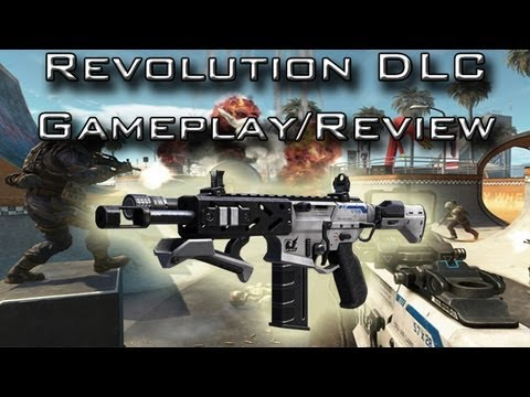 Peacekeeper SMG Gameplay on Grind w/ VSAT and Warthog / Revolution DLC Review (Black Ops 2)