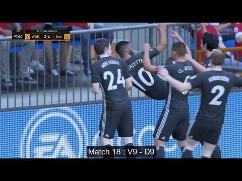 FIFA 18 : Mon FUT Champions [18-22] Semaine Du 8 au 11/12/17 (FUT)
