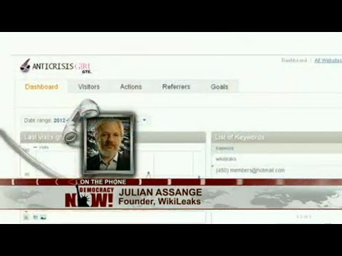 Julian Assange & Michael Ratner on NSA/GCHQ Surveillance of WikiLeaks and Supporters