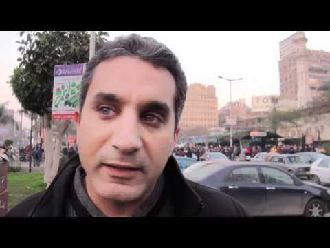 فيديو تعليق باسم يوسف على احداث بورسعيد