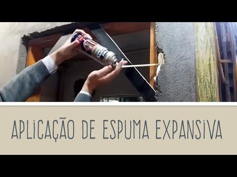 POLY ESPUMA: Como utilizar espuma expansiva