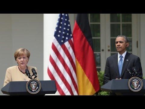 Obama, Merkel discuss sectoral sanctions