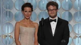 Golden Globe Awards 2012 Seth Rogen, Kate Beckinsale