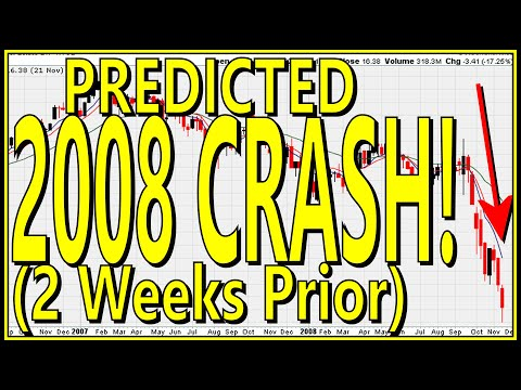 Muathe.com Predicted The 2008 Stock Market Crash Two Weeks Prior