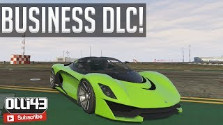 NEW GTA 5 Business Pack DLC! (GTA 5 Jet, Cars & More