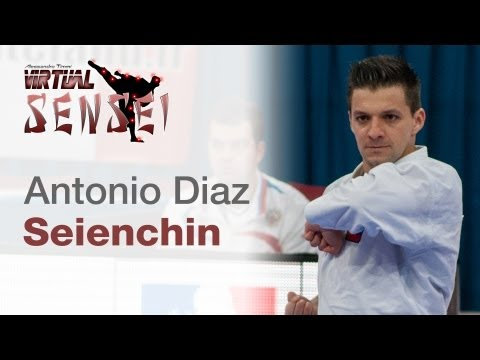 Antonio Diaz - Kata Seienchin - 21st WKF World Karate Championships Paris Bercy 2012