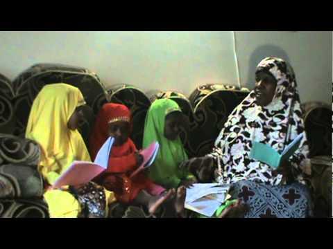 Somali bantu Qur'an agris fathiha to  Suarah   humazatin