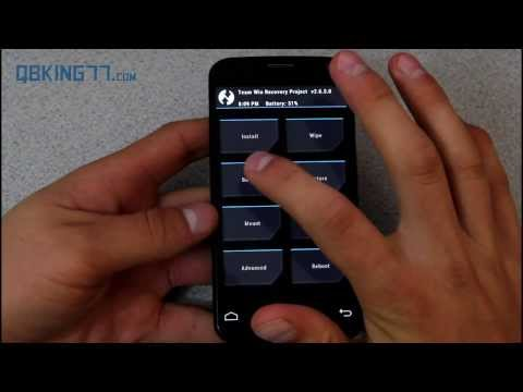 How to Root the Moto X [Sprint, T-Mobile, Rogers, USC]