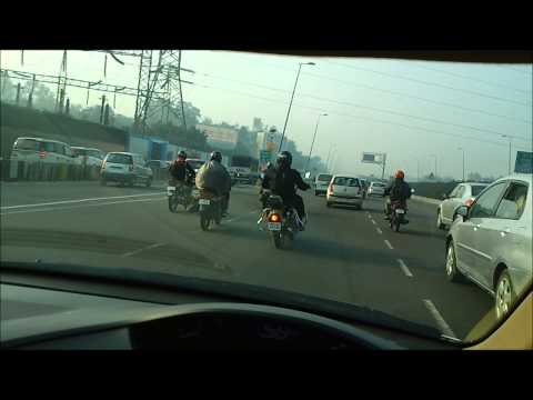 Inconsiderate DSC Limited Bikes blocking 3 lanes