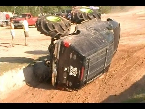 Monster Ford Expedition Flips Crashes At Sour Lake Mud