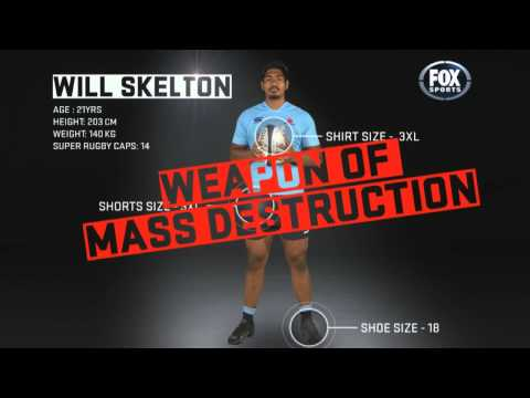 Rugby HQ: Drinks with Will Skelton | Super Rugby Video Highlights