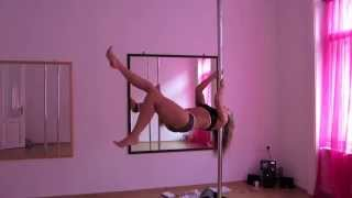 coolest pole dance trick ;-)
