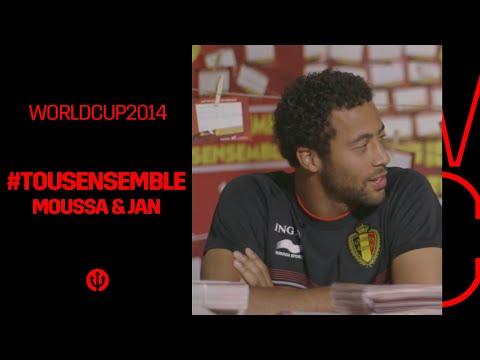 #iedereenmee #tousensemble : Moussa & Jan