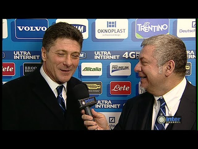 INTERVISTA WALTER MAZZARRI POST INTER - TRAPANI TIM CUP