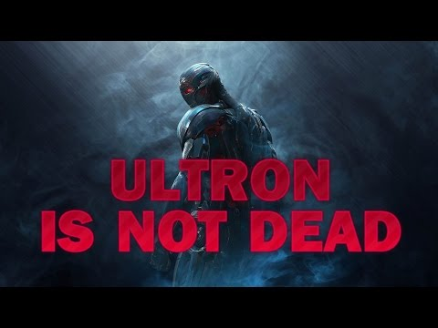 Ultron is not dead | Fan theory. Age of ultron. Marvel