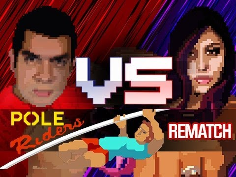 """BEST MATCH EVER"" Pole Riders (Husband vs Wife)"